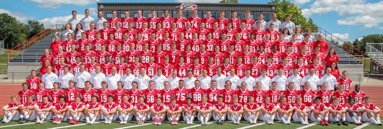 2016 Football Roster Central College Athletics
