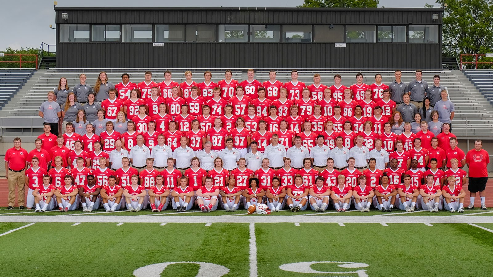 2018 Football Roster Central College Athletics
